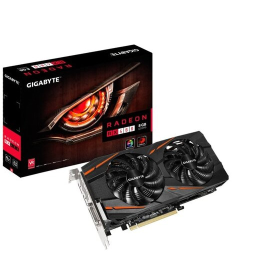 Gigabyte Radeon RX 480 WINDFORCE 8GB GDDR5 Graphics Card GV-RX480WF2-8GD