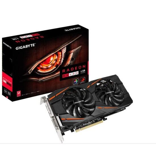 Gigabyte Radeon RX 480 WINDFORCE 4GB GDDR5 Graphics Card GV-RX480WF2-4GD