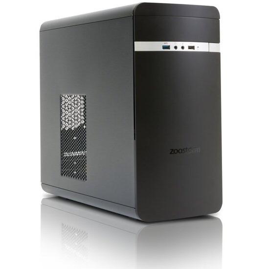 Zoostorm Evolve Desktop PC Intel Core i5-6400 2.7GHz 4GB RAM 1TB HDD DVDRW Intel HD Windows 10 Professional