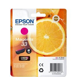 EPSON  No. 33 Oranges Magenta Ink Cartridge Reviews