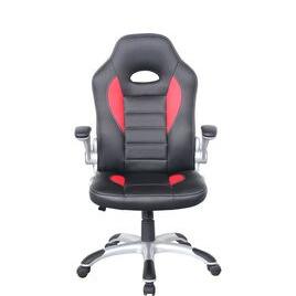 ALPHASON  Talladega Gaming Chair - Black & Red Reviews
