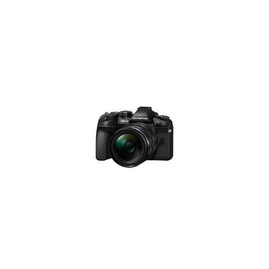 OM-D E-M1 Mark II Mirrorless Camera + EZ-M12-40mm Lens