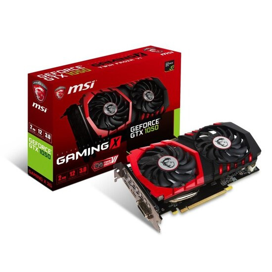 MSI GeForce GTX 1050 GAMING X 2GB GDDR5 Graphics Card GTX 1050 GAMING X 2G