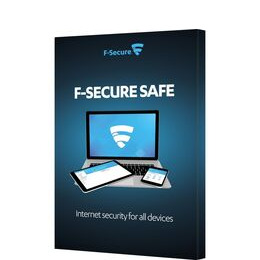 F-SECURE SAFE Internet Security - 1 year for 3 devices