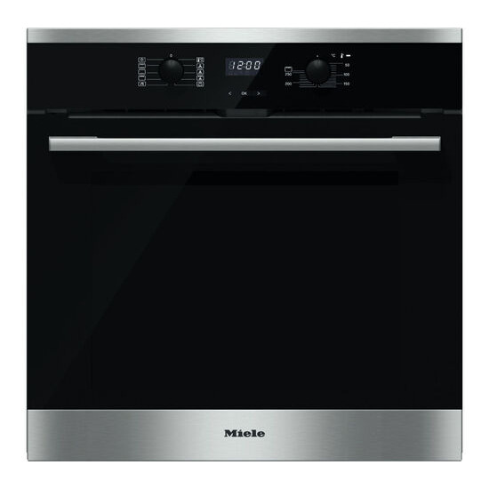 MIELE  H2566BP Electric Oven - Stainless Steel