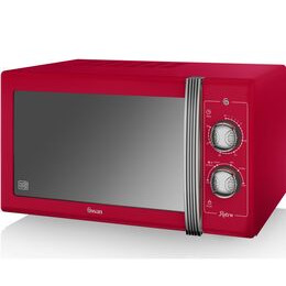 SWAN  Retro SM22070RN Solo Microwave - Red Reviews