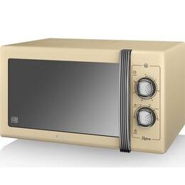 SWAN  Retro SM22070CN Solo Microwave - Cream Reviews