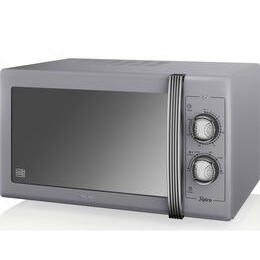 SWAN  Retro SM22070GRN Solo Microwave - Grey Reviews