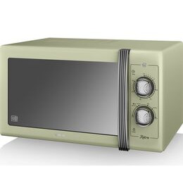 SWAN  Retro SM22070GN Solo Microwave - Green Reviews
