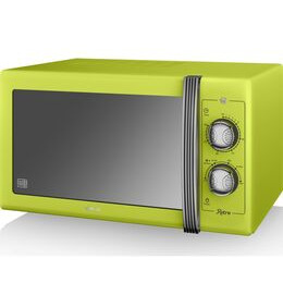 Swan Retro SM22070LN Solo Microwave - Lime Reviews