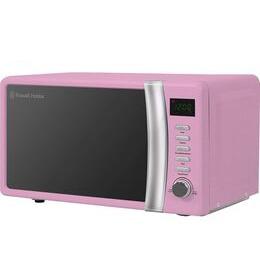 RUSSELL HOBBS  RHMD702PK Solo Microwave - Pink Reviews