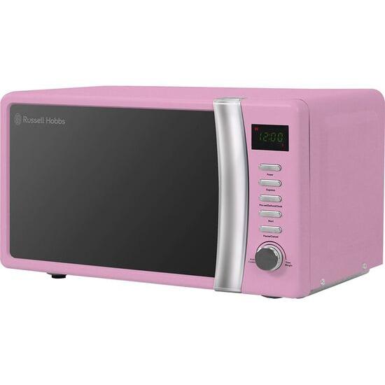 RUSSELL HOBBS  RHMD702PK Solo Microwave - Pink