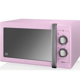 SWAN  Retro SM22070PN Solo Microwave - Pink Reviews