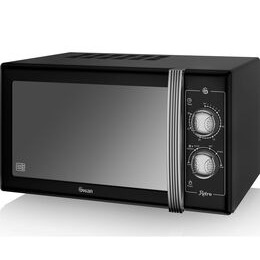 SWAN  Retro SM22070BN Solo Microwave - Black Reviews
