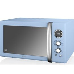 Swan SM22080BLN Microwave with Grill - Blue Reviews