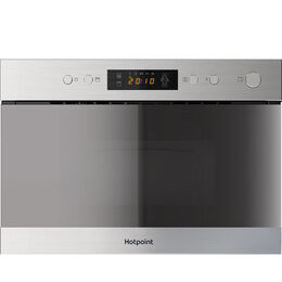 Hotpoint Mn 314 Ix H Built In Microwave With Grill Stainless Steel Reviews