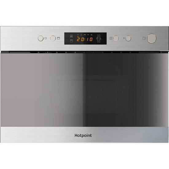 HOTPOINT  MN 314 IX H Built-in Microwave with Grill - Stainless Steel