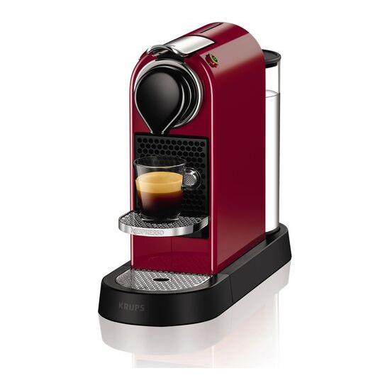 Nespresso by Krups CitiZ Coffee Machine - Red