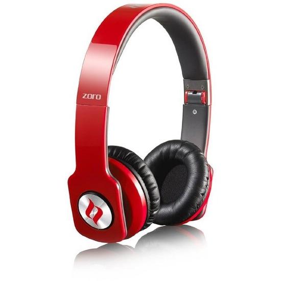 Noontec Zoro Professional Headphones - Red