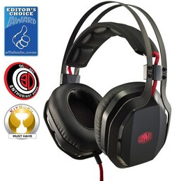 Cooler Master MasterPulse Over-Ear with Bass FX Headset Reviews