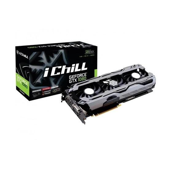 Inno3D GeForce GTX 1080 iChill Air Boss X3 8192MB GDDR5X PCI-Express Graphics Card