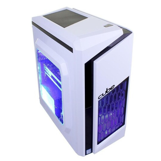 Cube Cougar Gaming PC AMD Quad Core with Radeon RX 460 Graphics Card