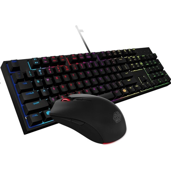 Cooler Master MasterKeys Lite L Combo RGB Gaming Keyboard & Mouse Bundle