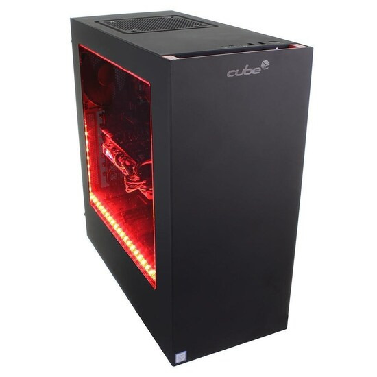Cube Jaguar VR Ready Gaming PC Core i7 Quad Core with Geforce GTX 1070 Graphics Card