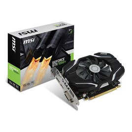 MSI NVIDIA GeForce GTX 1050 Ti 4GB OC Graphics Card