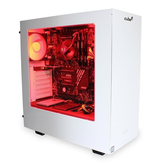 Cube Jaguar VR Ready Gaming PC Core i5 Quad Core with Geforce GTX 1080 Graphics Card