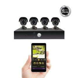 Yale Smart Living HD720 8 Channel 4 Camera 1TB Hybrid DVR CCTV System Reviews