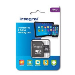 Integral 32GB Smartphone/Tablet Class 10 MicroSDHC Memory Card Reviews