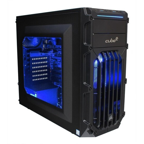 Cube Panther Gaming PC Core i7 Quad Core with Geforce GTX 1050Ti Graphics Card