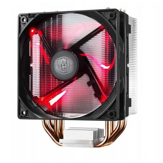 Cooler Master Hyper 212 Red LED CPU Cooler with PWM Fan