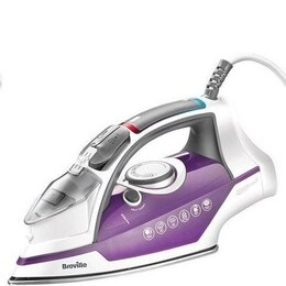 Breville VIN348 POWERsteam Sure Fill Steam Iron 2400 watts 250 ml Tank capacity 40g Constant steam 100g Steam shot Stainless Steel soleplate Reviews