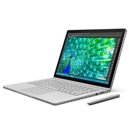 Microsoft Surface Book Core i7-6600U 2.6GHz 16GB 1TB SSD Nvidia GeForce 940M 13.5 Inch Windows 10 Professional Convertible Laptop