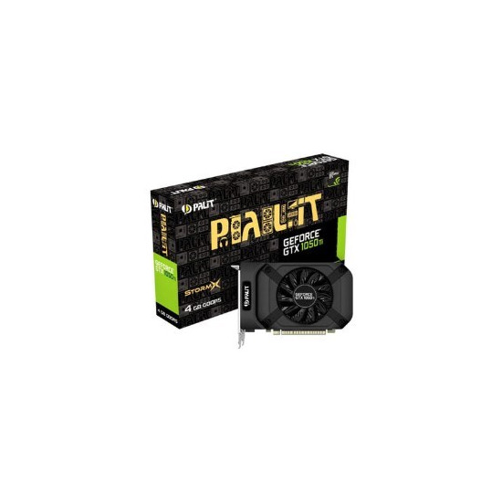 Palit GeForce GTX 1050 Ti 4GB StormX Graphics Card