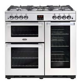 Belling 444444075 Cookcentre 90G Professional 90cm Gas Range Cooker Stainless steel Reviews