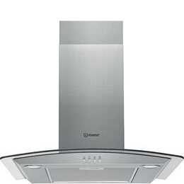 INDESIT  IHGC 6.4 AM X Chimney Cooker Hood - Stainless Steel Reviews