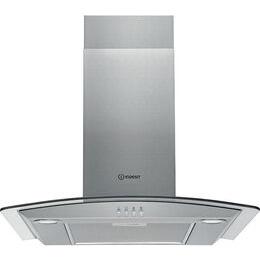 Beau INDESIT IHGC 6.4 AM X Chimney Cooker Hood   Stainless Steel Reviews