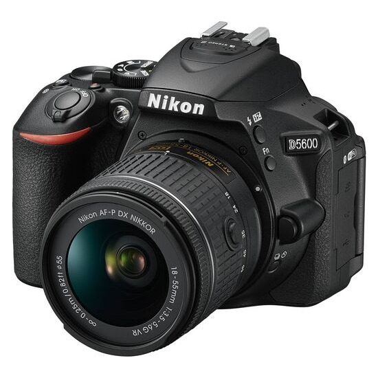 Nikon D5600 with 18-55mm AF-P VR Lens