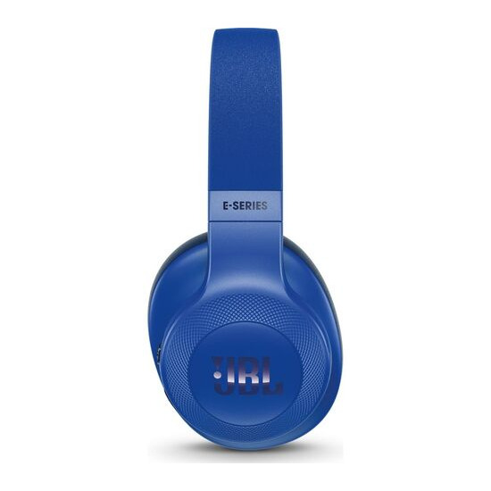 JBL  E55BT Wireless Bluetooth Headphones - Blue