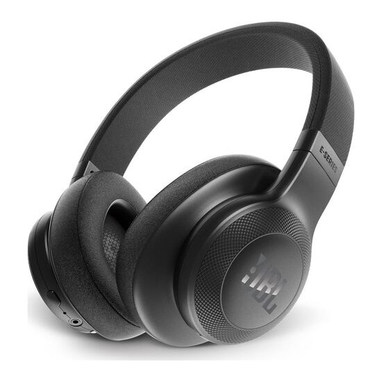 JBL  E55BT Wireless Bluetooth Headphones - Black
