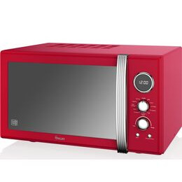 Swan SM22080RN Retro Digital Microwave with Grill - Red Reviews