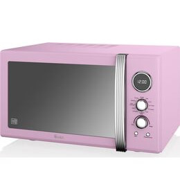 SWAN  SM22080PN Retro Microwave with Grill - Pink Reviews