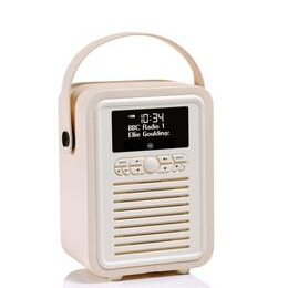VIEWQUEST  Retro Mini VQ-MINI-CR Portable Bluetooth DAB Radio - Cream Reviews