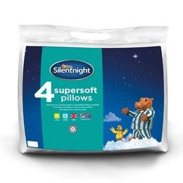 Silentnight Supersoft Pillow - 4 Pack Reviews