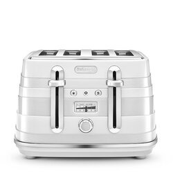 De'Longhi Avvolta White Toaster (CTA4003 Reviews