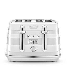De'Longhi Avvolta White Toaster (CTA4003 Reviews