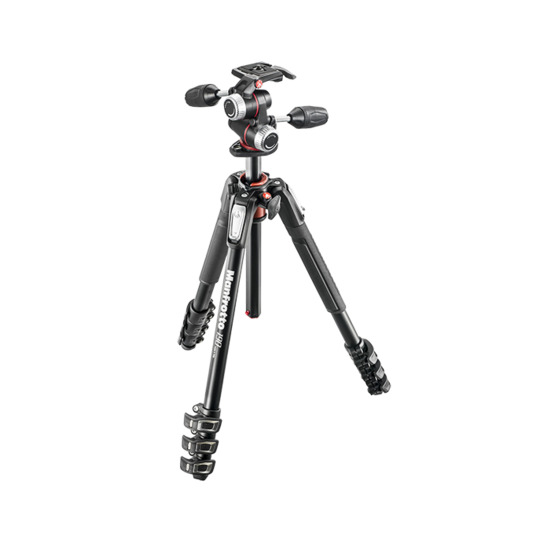 Manfrotto MK190XPRO4-3W Aluminium Tripod with 3-Way Head